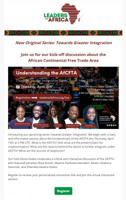 AfCFTA Mailer 2021